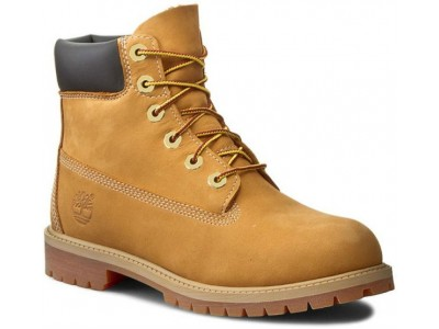 Timberland 12909 713 wheat nubuc yellow