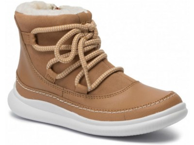 Clarks Cloud Alpine K 261439686 Tan suede