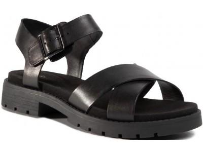 Clarks Orinoco Strap 261477464 black leather