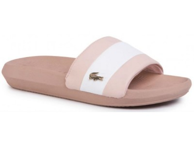 Lacoste Croco slide 120 3 us cfa nat/wht