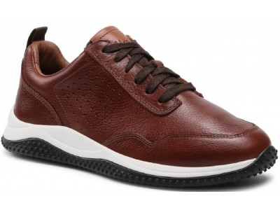 Clarks Puxton Lace 261578287 Tan Leather