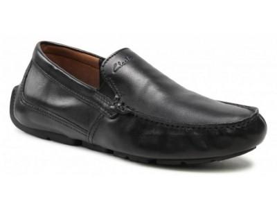 Clarks Markman Plain 261587077 Black Leather