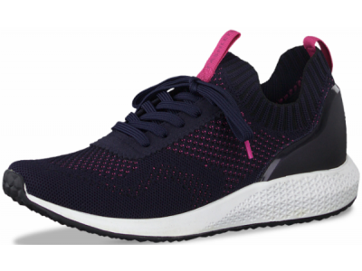 Γυναικεία sneakers Tamaris 1-23714-25 870 navy/magenta