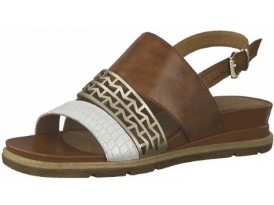 Tamaris 1-28227-26 446 nut leather comb