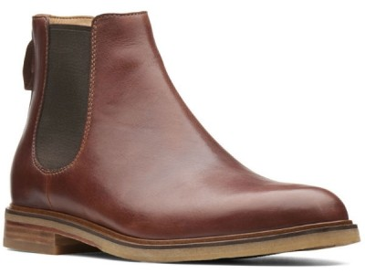 Clarks Clarkdale Gobi 26136251 mahogany leather