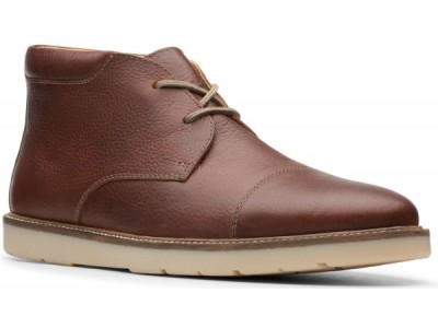 Clarks Grandin top 26144891 tan tumbled