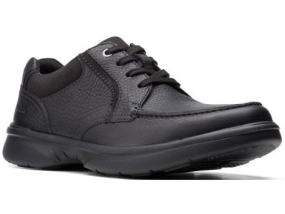 Clarks Bradley Vibe 261531587 blk tumbled leather