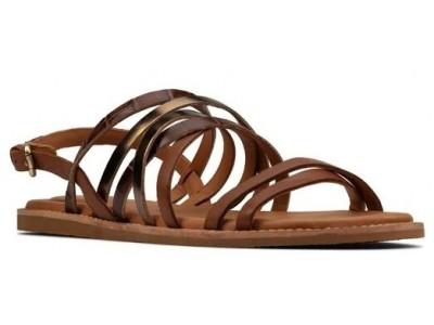 Clarks Karsea Ankle 26158491 Tan Leather