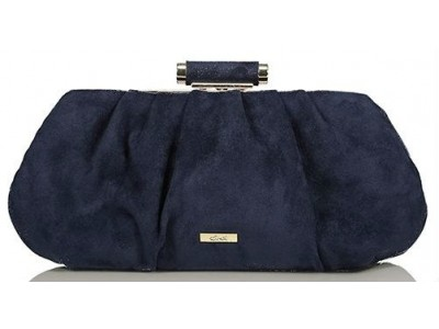 Axel Sabrina evening bag synthetic suede 1005-1200 blue