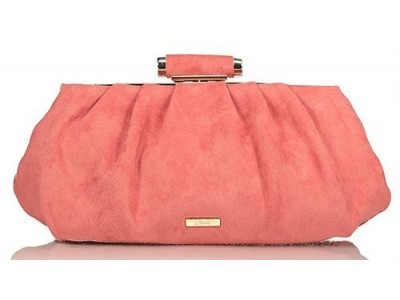 Axel Sabrina evening bag synthetic suede 1005-1200 pink