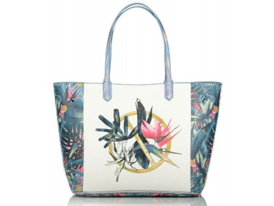 Axel Idyllic jungle shopper bag 1010-2243 green