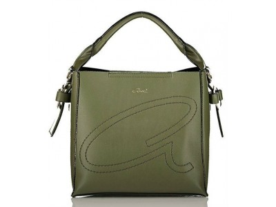 Axel Jil shoulder bag with removable long strap 1010-2284 green