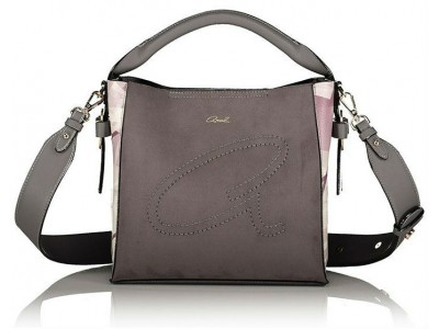 Axel Utopia shoulder bag with removable long strap 1010-2285 grey