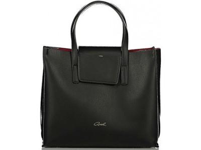 Axel Simona bag with flap 1010-2292 black
