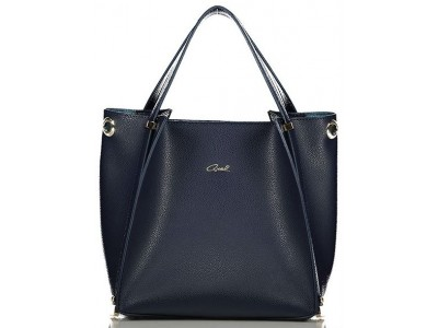 Axel Isidora bag with inner pouch 1010-2345 dark blue