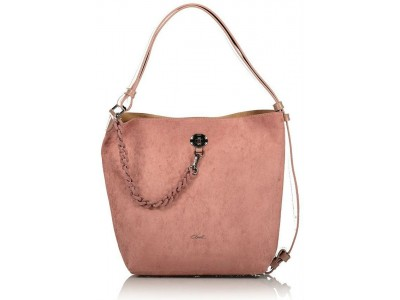 Axel Tiffany shoulderbag with chain strap 1010-2349 dusty pink