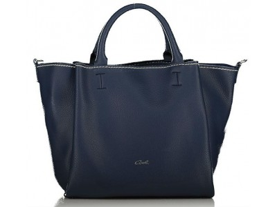 Axel Elvira handbag and long strap removable 1010-2366 navy