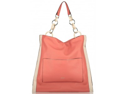Axel Janetta shoulder bag rings strap 1010-2405 sunset pink