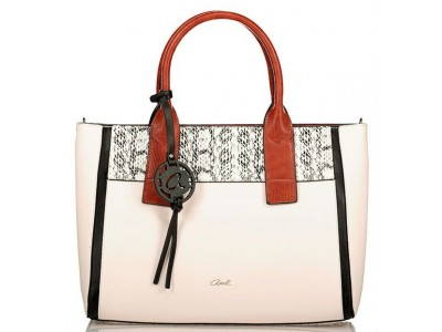 Axel Celeste handbag 1010-2409 cream