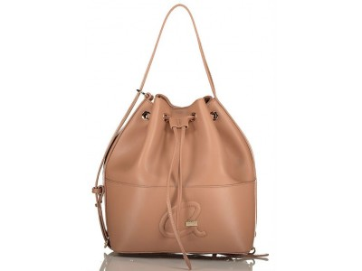Axel Christa bucket bag solid color 1010-2432 beige