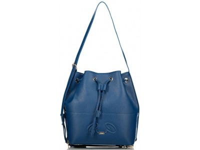Axel Rhea bucket bag recycled material 1010-2533 002 blue
