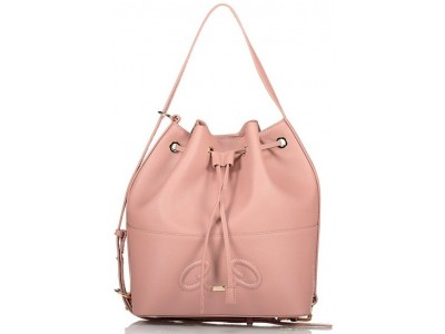 Axel Rhea bucket bag recycled material 1010-2533 089 dusty pink