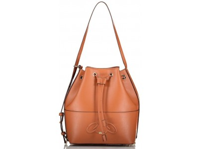 Axel Rhea bucket bag recycled pu 1010-2586 025 camel