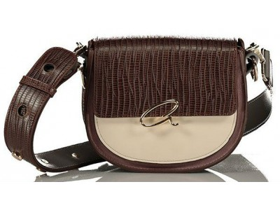Axel Nora shoulder bag with flap 1020-0311 cacao