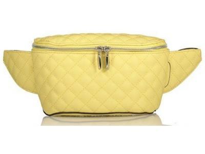 Axel Novellia waist bag with stiching 1021-0003 farm yellow