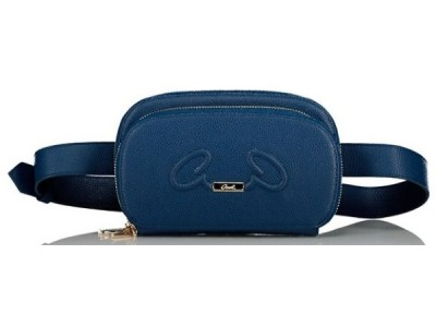 Axel Rhea belt bag with long strap 1021-0012 002 blue