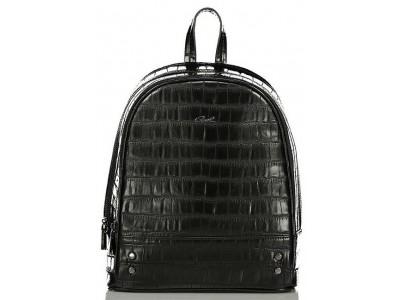 Axel Dahlia backpack croc 1023-0200 black