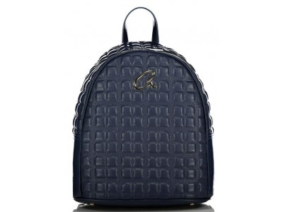 Axel Selina backpack quilted 1023-0262 068 navy
