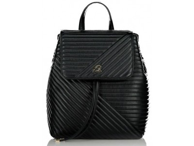 Axel Theodora quilted backpack 1023-0264 003 black
