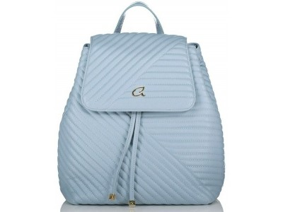 Axel Theodora quilted backpack 1023-0264 579 mist blue