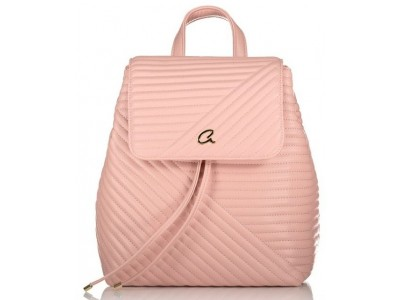 Axel Theodora quilted backpack 1023-0264 007 pink