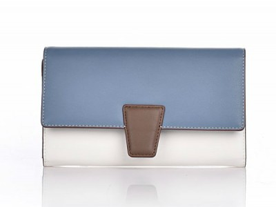 Axel Norine wallet with flap 1101-1098 blue