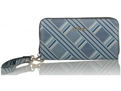 Axel Tartan wallet 1101-1126 tartan blue