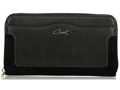 Axel Zoe wallet with hidden front pocket 1101-1127 black