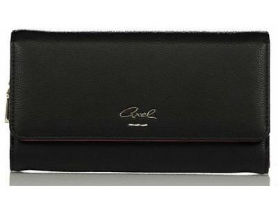Axel Simona wallet with flap 1101-1128 black