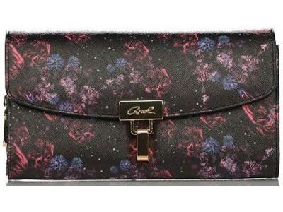 Axel Roses galaxy wallet with flap 1101-1133 roses galaxy