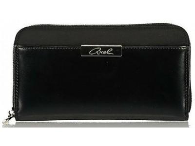 Axel Cerise wallet solid color 1101-1140 black