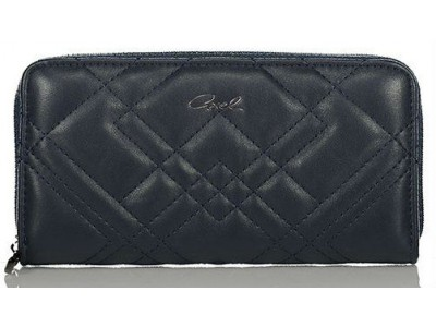 Axel Caliste wallet with stitching pattern 1101-1170 dark blue