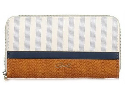 Axel Linea zip wallet 1101-1183 blue