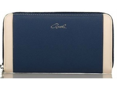 Axel Janetta zip wallet 1101-1201 navy