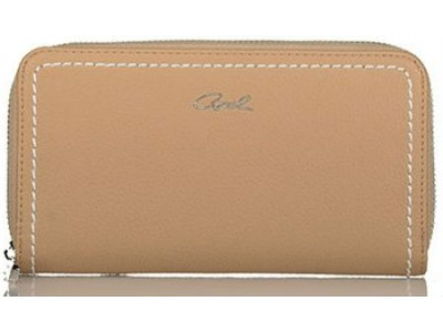 Axel Elvira zip wallet 1101-1205 beige