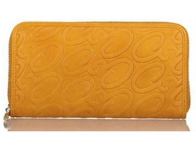 Axel Leoni wallet with logo A 1101-1208 yellow