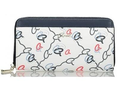 Axel knot monogram wallet 1101-1309 037 white