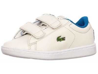 Lacoste carnaby evo strap off wht/blu