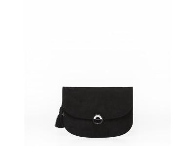 Christina malle Black clutch