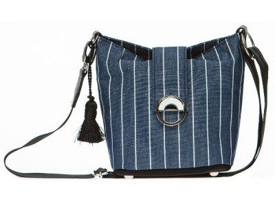 Christina Malle Blue mini hobo
